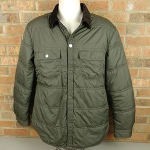 Tommy Hilfiger Quilted Green Jacket